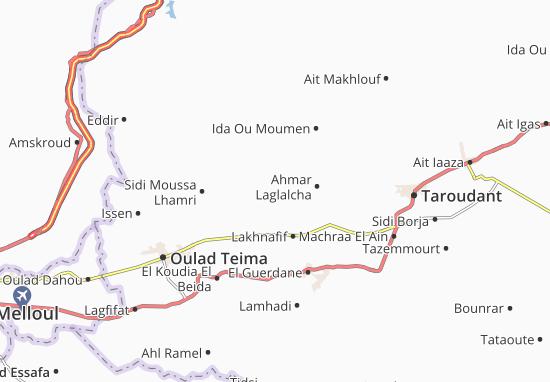 Mapas-Planos Zaouia Sidi Tahar