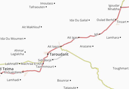 Mapas-Planos Sidi Dahmane
