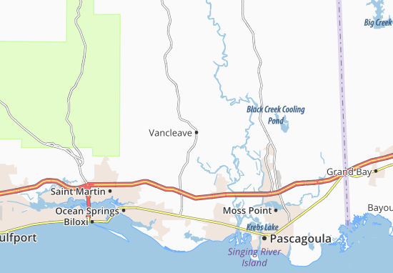 Vancleave Map