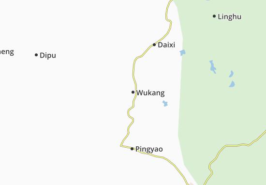Mapa Plano Wukang