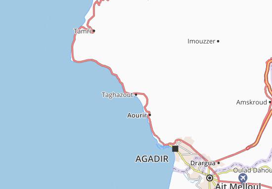 Mapas-Planos Taghazout
