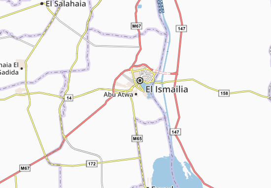 Carte-Plan Abu Atwa