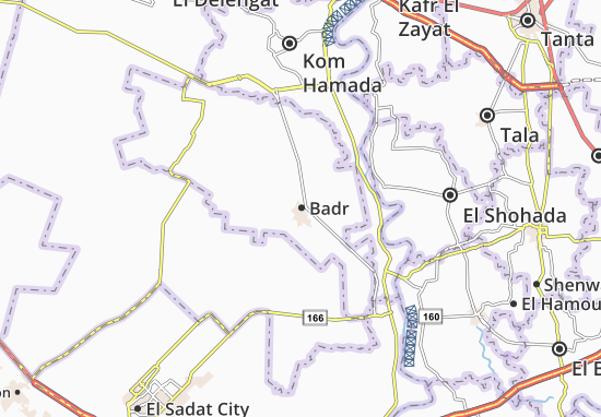 Badr Map: Detailed maps for the city of Badr - ViaMichelin