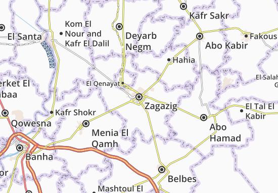 Zagazig Map