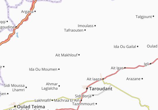 Carte-Plan Ait Makhlouf