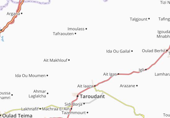 Mapas-Planos Tamaloukte