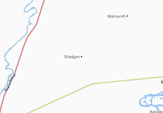Shadgan Map