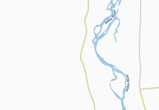 Kaart Plattegrond Taunsa