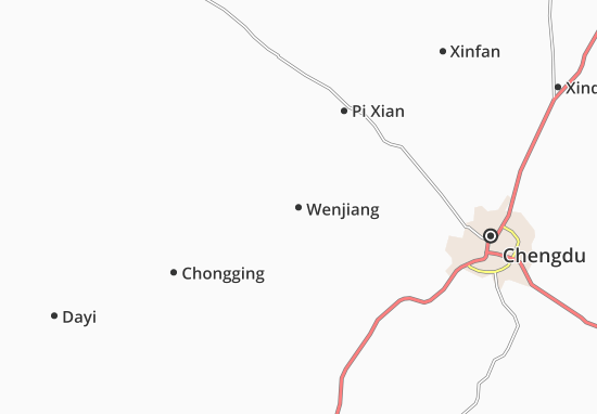 Carte-Plan Wenjiang