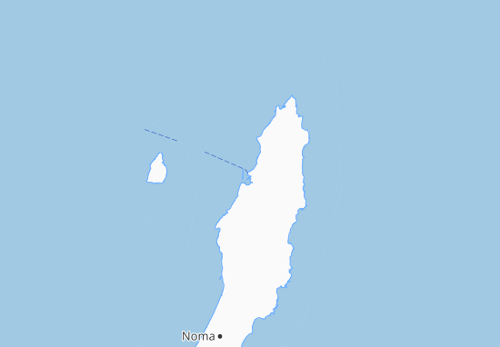 Nishinoomote Map