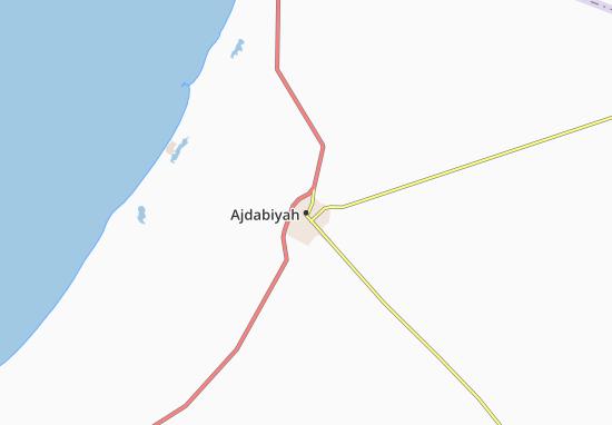 Carte-Plan Ajdabiyah