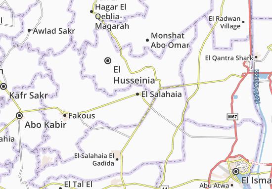 Mapa El Salahaia
