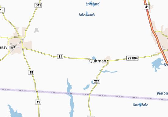 Dixie Map