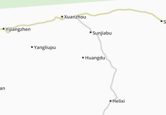 Mapas-Planos Huangdu