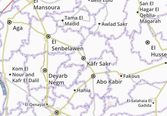 Kafr Sakr Map