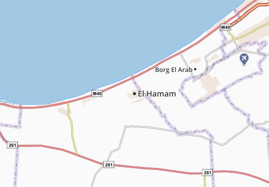 El Hamam Map