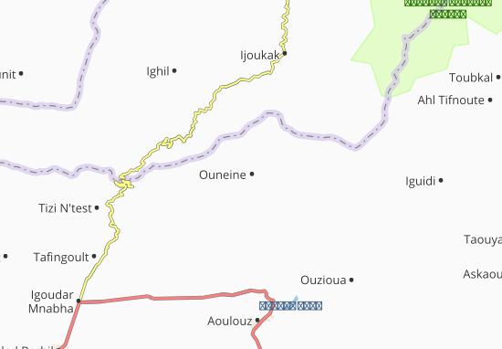 Carte-Plan Ouneine