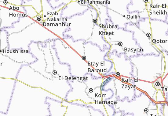 Etay El Baroud Map