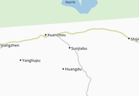 Sunjiabu Map