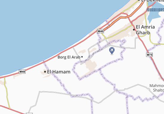 Mapas-Planos Borg El Arab