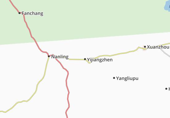 Yijiangzhen Map