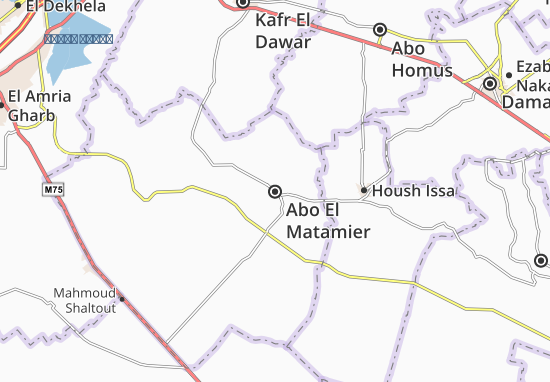 Abo El Matamier Map