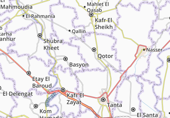 Ezbet Roshdy Map: Detailed maps for the city of Ezbet Roshdy ...