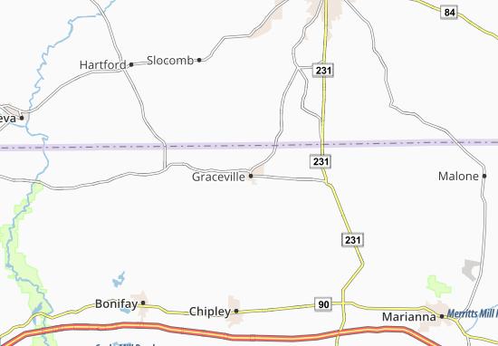 Graceville Map