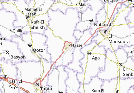 Mapas-Planos El Mahalet El Kobra