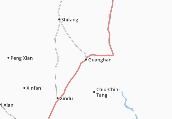 Carte-Plan Guanghan