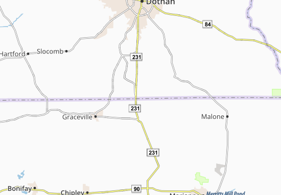State Line Map