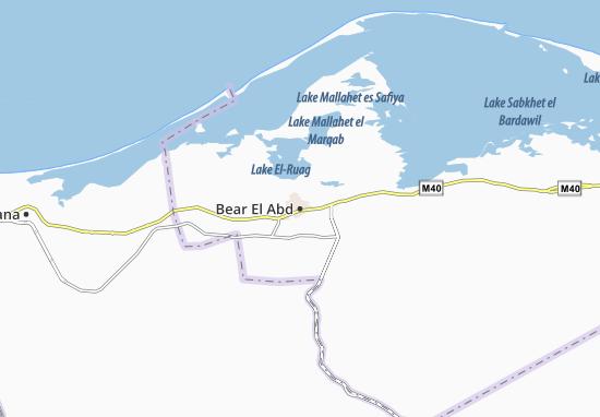 Mapas-Planos Bear El Abd