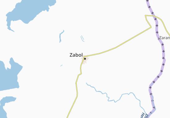 Zabol Map