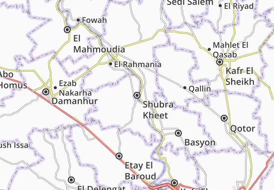 Shubra Kheet Map