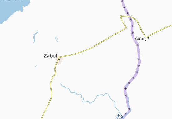 Deh-e Eskil Map