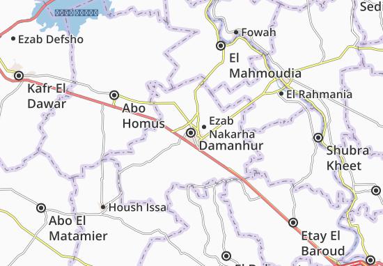 Mapa Damanhur