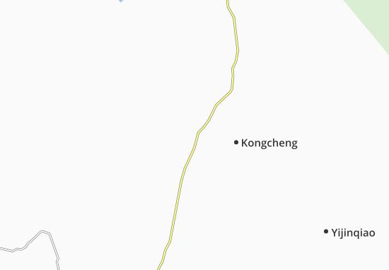 Kaart Plattegrond Tongcheng