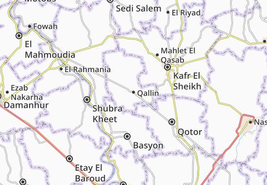 Mapa Qallin