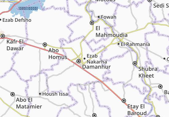 Mappe-Piantine Ezab Nakarha
