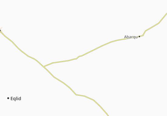 Kaart Plattegrond Feragheh