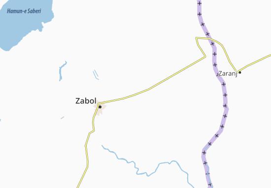 Deh-e Arbab Map