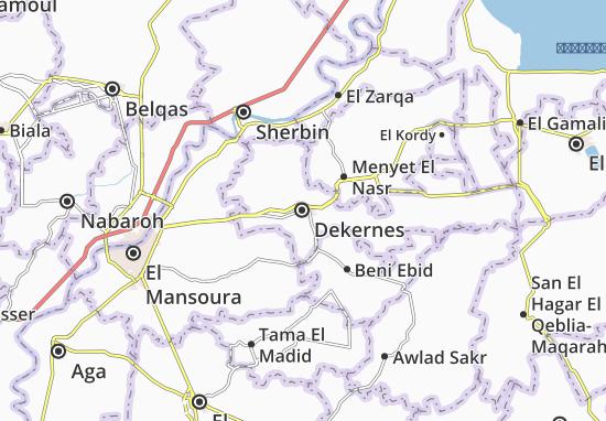 Dekernes Map