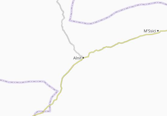 Carte-Plan Alnif