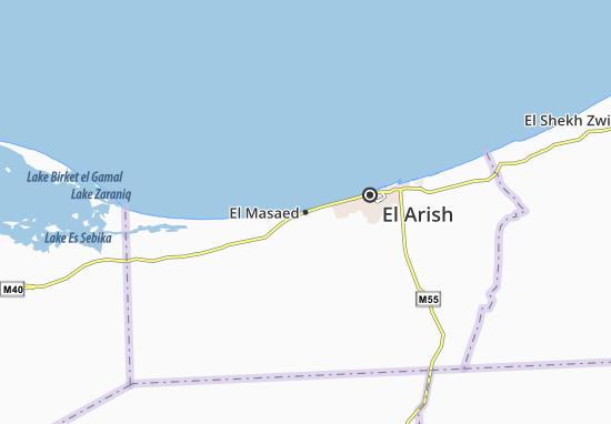 El Masaed Map