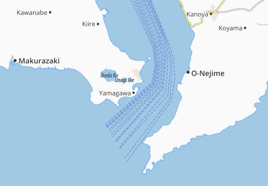 Mappe-Piantine Yamagawa