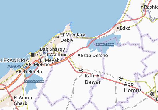 Mapa Ezab Defsho