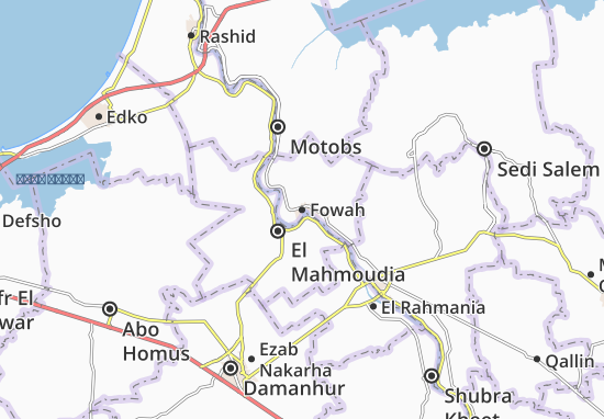 Fowah Map