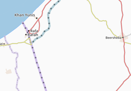 Gevulot Map