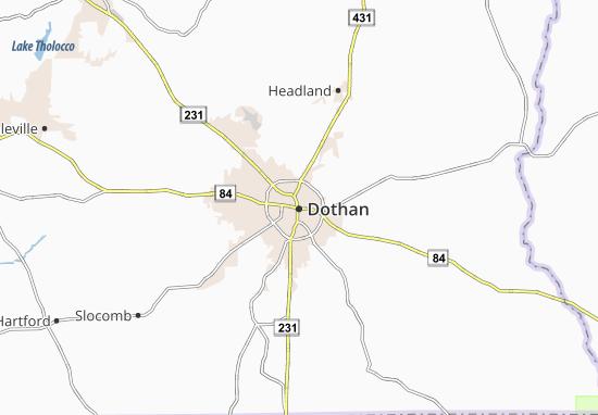Dothan Map