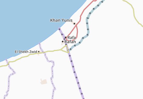 Kerem Shalom Map